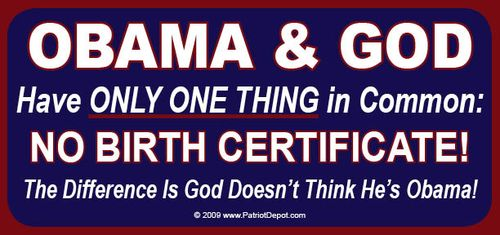 Obama has no birth certificate